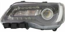 CHRYSLER 300 2015-2016 LEFT DRIVER BLACK HEADLIGHT HEAD LIGHT FRONT LAMP HALOGEN
