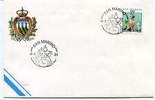 1991-06-04 San Marino ANNULLO SPECIALE Cover