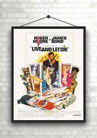 James Bond Golden Gun Vintage Classic Movie Poster Art Print A0 A1 A2 A3 A4 Maxi