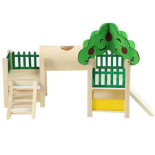 Hamster House Playstand Playground Perch Gym Stand Playpen Ladders Exercise TKKV