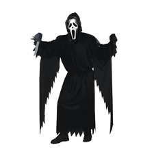 Scream Ghost Face Horror Movie Killer Reaper Scary Adult Halloween Party Costume
