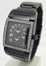 De Grisogono Instrumento No Uno Diamond Men's PVD Steel Automatic Watch 32mm B&P