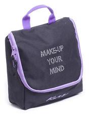 Girls Ladies Black And Purple Dance Ballet Tap Make Up Cosmetic Bag KB69 By Katz
