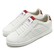 Royal Elastics Icon Genesis White Red Men Slip On Casual Shoes Sneaker 01902-001