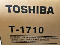 NEW TOSHIBA T-1710 Toner LOT OF 3 FOR Models 1650, 1710, 2050, 2310, 2500, 2540