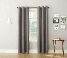 Lichtenberg Montego No. 918 Curtain drape 00006000  Grommet Panel 48 x 84 Nickel Grey