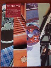 Bonhams Car Auction Catalogue - 2 October 2004 - Geneva