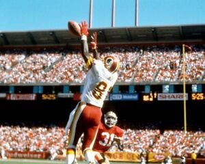 ART MONK 8X10 PHOTO WASHINGTON REDSKINS PICTURE NFL FOOTBALL VS NINERS