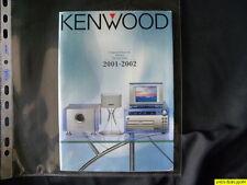 Kenwood Catálogo generale Audio 2001 / 2002 in lengua italiana