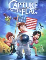 Capture the Flag 2015 PG animated family astronaut space adventure movie new DVD