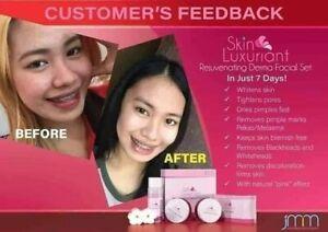 Skin Luxuriant Rejuvenating Derma Facial Set Lighter Skin Tone Reduce Dark Spot