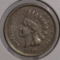 1860 Indian Head Cent. NICE COLLECTOR COIN FOR YOUR SET OR COLLECTION.