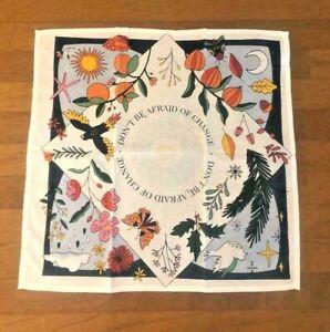 NWT Anthropologie Floursack Seasons Dish Towel