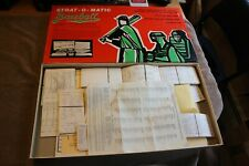 C. 1974 Stratomatic Baseball board game w/260+ cards inc. Old-Timers
