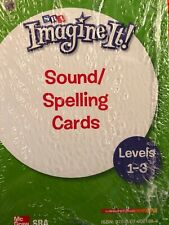 SRA Imagine It! Sound/Spelling Cards: Levels 1-3