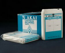 AKAI ACT-300 8 Track Cartridge Recording Tape with NEW Splice NEW Foam Pads