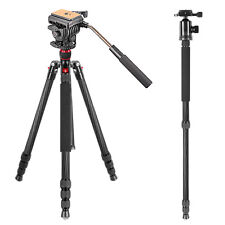 "Neewer Carbon Fiber 66"" Tripod Monopod w/ 360 Degree Ball Head for DSLR Camera"
