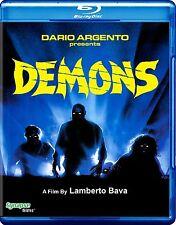 Demons Blu-ray, Dario Argento, Lamberto Bava *Brand New!*