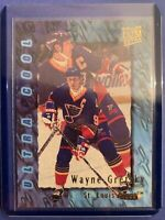 1995-96 Skybox Fleer Ultra Extra Ultra Cool #385 Wayne Gretzky Saint Louis Vlues