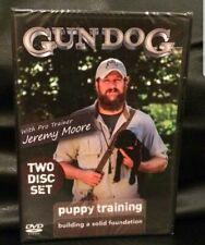 Gun Dog Puppy Training two disc DVD set with Jeremy Moore, editor Rick Van Etten