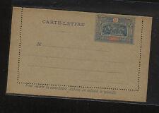 Obock  nice postal  letter card  unsued     15 cent    KL0602