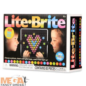 Lite Brite Mini Set Glow Arts and Crafts Kids Toys & Games For Kids Age 4+ New