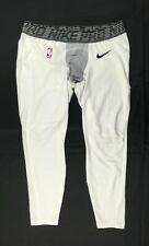 NEW Nike - Men'sWhite/Gray Dri-Fit Compression  Pants (3XL)