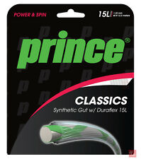 Prince Synthetic Gut Duraflex 15L / 1.38mm Tennis String Set