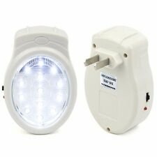 13 LED Rechargeable Emergency Automatic Power Failure Outage Light Lamp Plug In