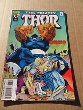 Thor 485 . Thing App.   Marvel 1995 -  VF