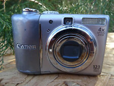 Canon PowerShot A1100 IS 12.1MP Digital Camera - Gray FOR REPAIR AS IS PARTS