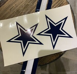 Cowboys Full Helmet Decals And Stripes