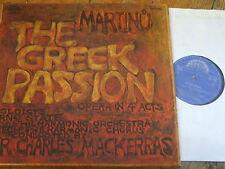 1116 3611/2 Martinu The Greek Passion / Davies / Field / Mackerras etc. 2 LP box
