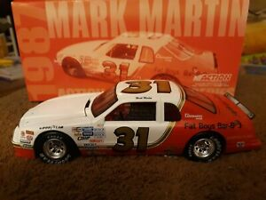 1/24 1986 Mark Martin #31 Fat BOY'S BBQ Action Ford Thunderbird Historical