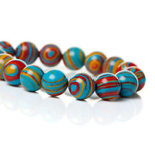 20 Multi Color Gemstone Beads 8mm- BD532