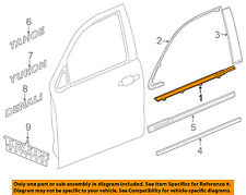 GM OEM-Door Window Sweep-Belt Molding Weatherstrip Right 84291968