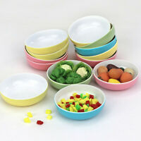 1Pc 1:12 Dollhouse Miniature Accessories Mini Doll Kitchen Soup Plate Bowls HO
