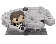 More details for star wars #321 funko pop! deluxe millenium falcon with han solo, collectors item