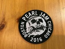 PEARL JAM Wrigley Field CHICAGO/Fenway Park BOSTON 2016 PATCH: LET'S PLAY TWO!