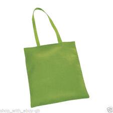 Bolsos de hombre en color principal verde de lona