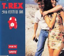 "CD MAXI 4 T T.REX  ""20th CENTURY FOX""  (PUB TV LEVI'S)"