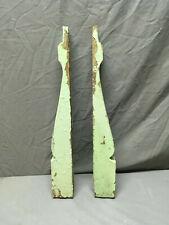 Pair Antique Corbels Shelf Brackets Shabby Vintage Chic 317-19Lr