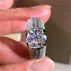 Gorgeous Women Wedding Rings Cubic Zirconia Jewelry 925 Silver Rings Size 6-10