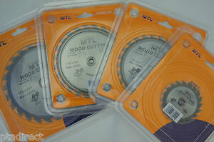 MTL Brand TCT Circular Saw Blade, Thin Kerf  for Cordless Saws 85mm to 210mm dia