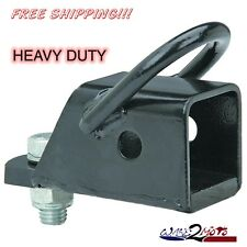 "2 "" ATV Hitch Adapter Mount Honda Kawasaki Yamaha Polaris Can-Am ArticCat Ball"