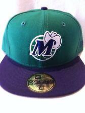 Authentic New Era Dallas Mavericks Cap Basketball Hat Nba NBA Fitted 7 3/8 New