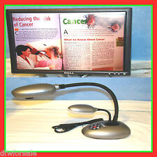 Dukane 220E Document Camera Digital Visual Presenter With Warranty Tested