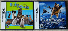 Nintendo DS Lot - Hotel for Dogs (Used) Cats & Dogs Revenge of Kitty Galore NEW
