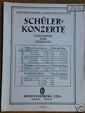violin / piano HUBER op.5 concerto  INTERMEDIATE