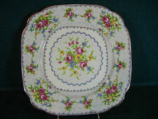 "Royal Albert Petit Point 8 5/8"" Square Luncheon Plate(s)"